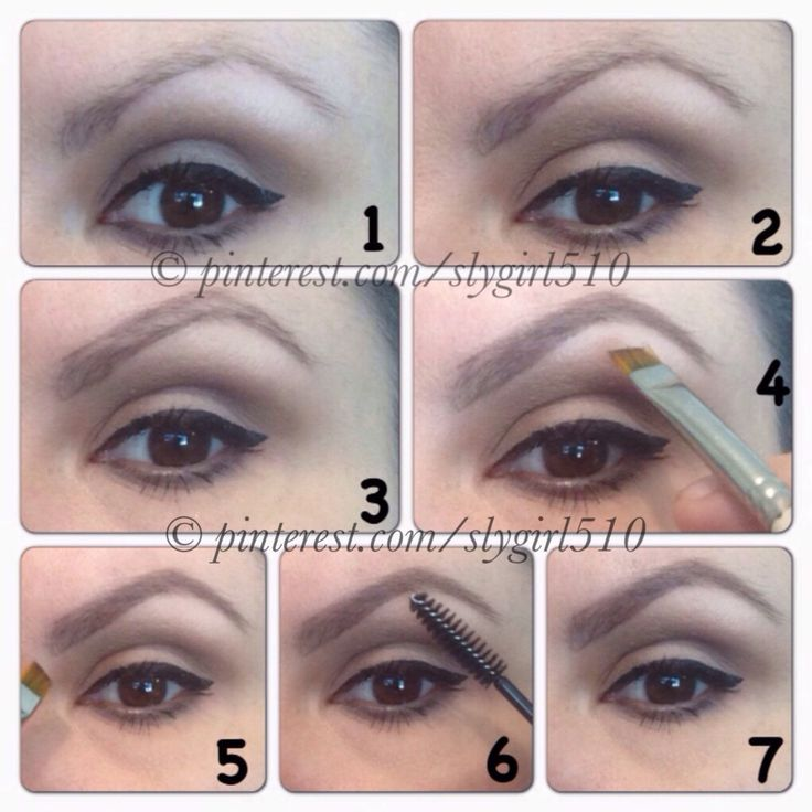 How I Do My Eyebrows: 1.  Bare brow.  2.  Outline bottom of brow with wax of Elf brow Kit (or Benefit's Eyebrow Zings) using angled brush.  3.  Outline top of brow with wax.  4.  Starting about 1/4 into the brow, lightly fill in brow with wax.  5.  Go back to the inner 1/4 corner of brow and very lightly fill in.  Loosen your grip on your brush.  This is creating the gradient look.  6.  With a clean mascara wand/ brush lightly blend throughout.  7.  Finished brow!