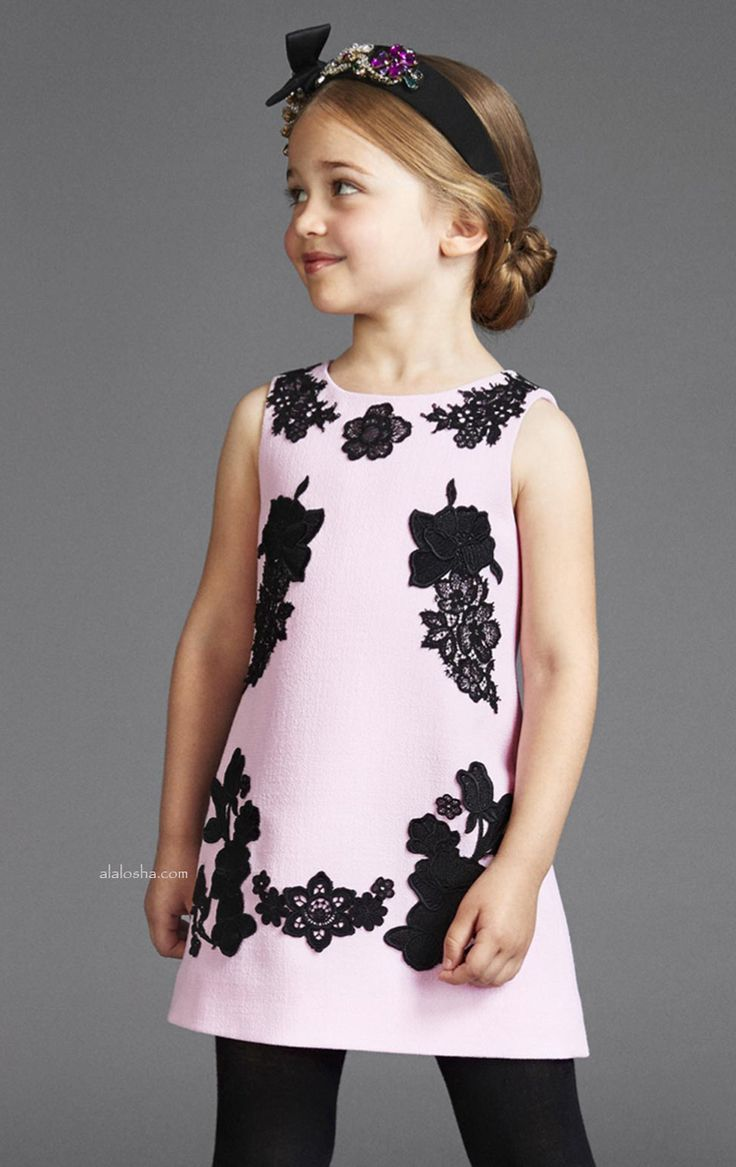 """One of the season's SS'17 biggest trends - the """"frumpy"""" bedspread floral, receives a cutie spin thanks to the classic silhouette (one that's universally flattering) from the Dolce&Gabbana."""