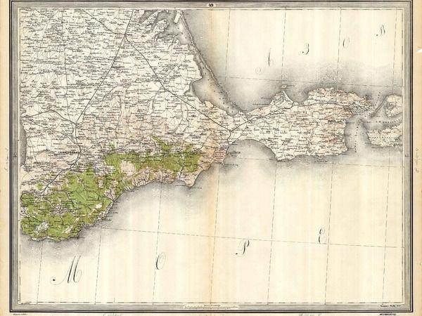 Старинные карты Крыма