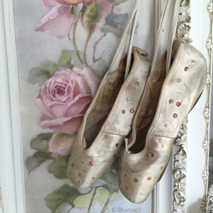 Ballerina Shoes-Girls-Shoes-Satin- Winter White Sequin Ballerina Shoes by RinggoldRelics on Etsy