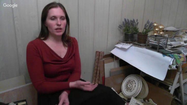 Журавлева Елена - Декорирование мебели. Имитация резьбы