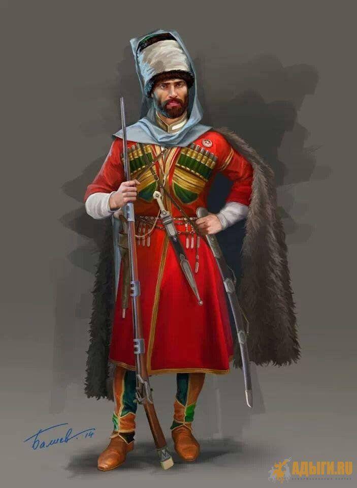 Cherkess or Dagestan