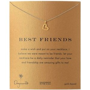 "Dogeared Jewels & Gifts ""Lucky Horseshoe"" Gold-Plated Sterling Silver Pendant Necklace, 18.4"""