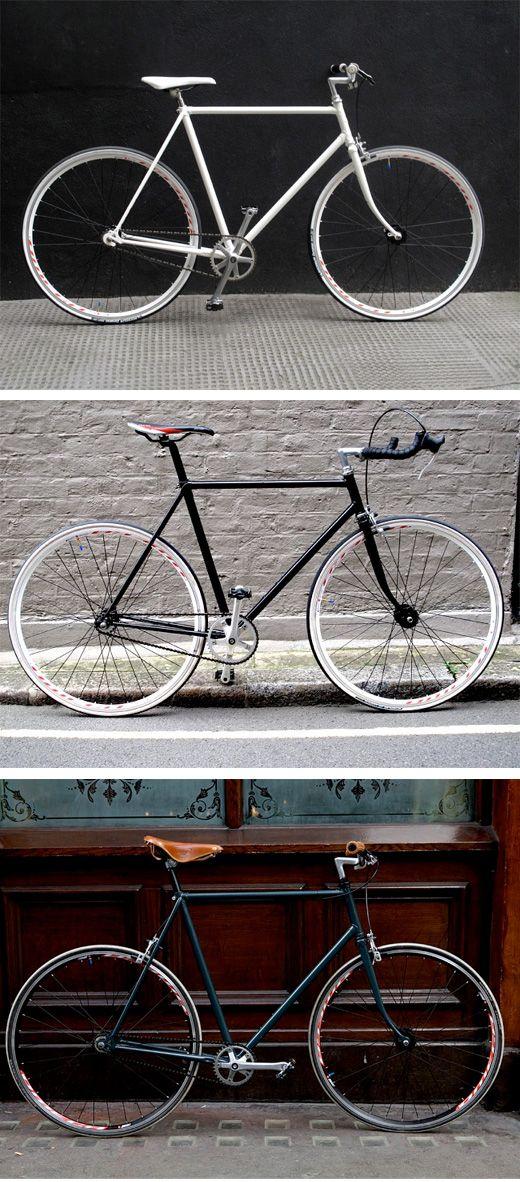 Soho Fixed Bikes. London