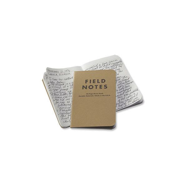 Small Travel Notebook / Field Notes Travel Notebooks -- Orvis ($19) ❤ liked on Polyvore featuring home, home decor, stationery, fillers, books, notebooks, items, backgrounds, text and doodle