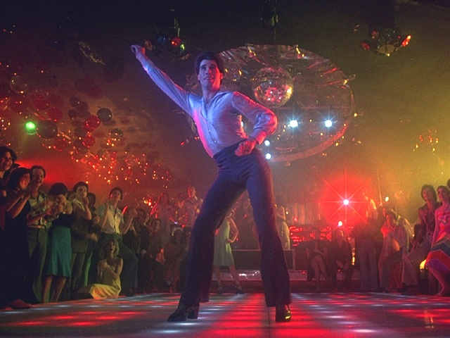 My brother was able to get me in to see the matinee of Saturday Night Fever with his friends.