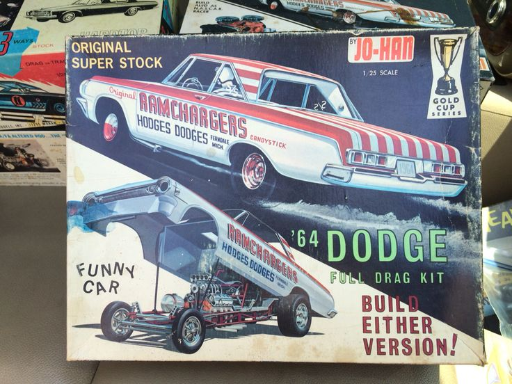 133 best vintage model box art images on pinterest box art car johan dodge kit sciox Image collections