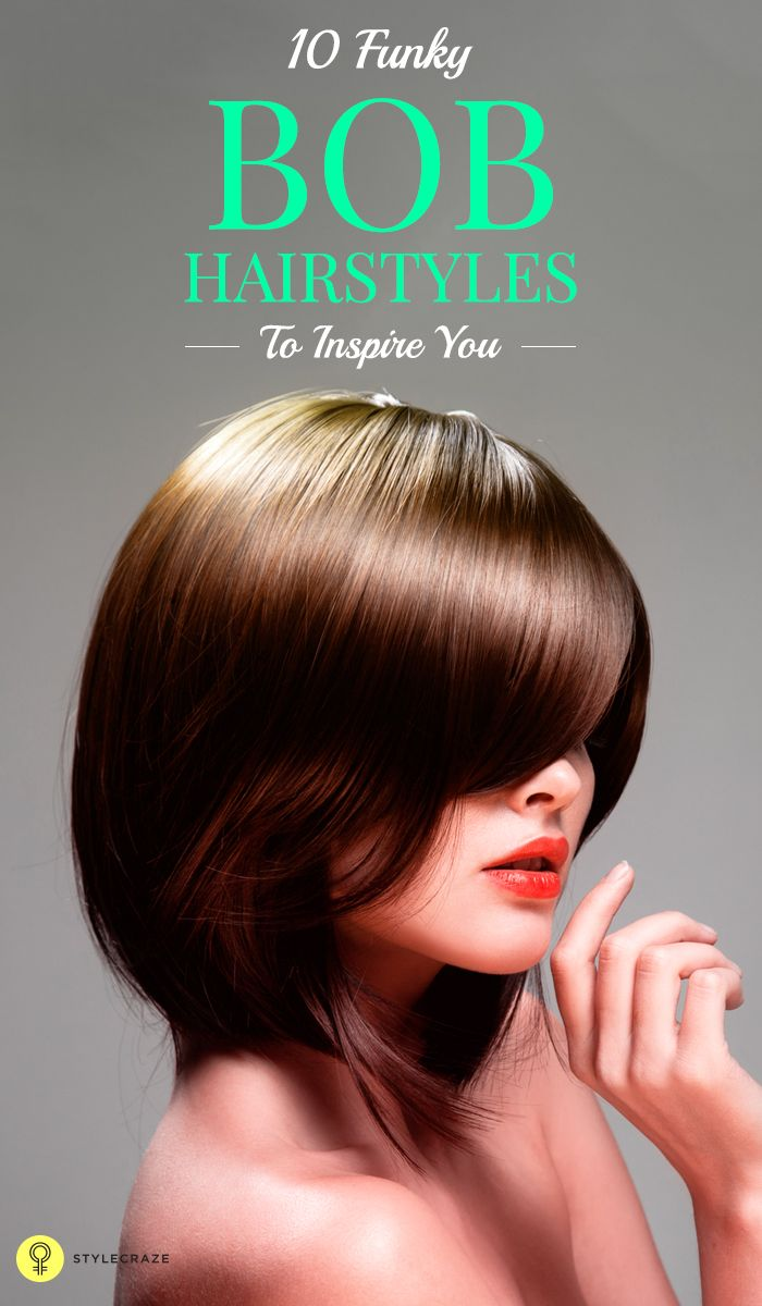 Read ahead to take notes on how to create these popular funky bob hairstyles.  #bobhairstyles