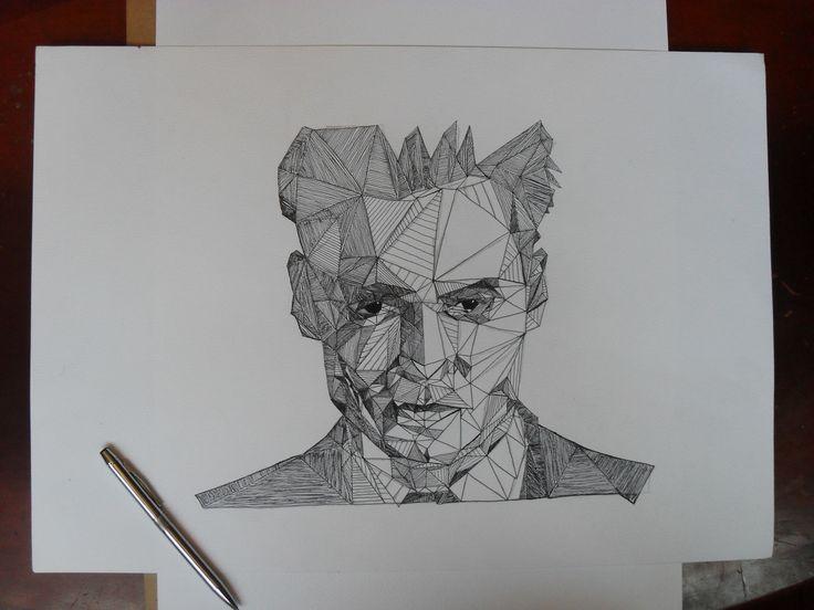Johnny Depp by  me!  Este es una replica, ha sido un trabajo muy interesante.