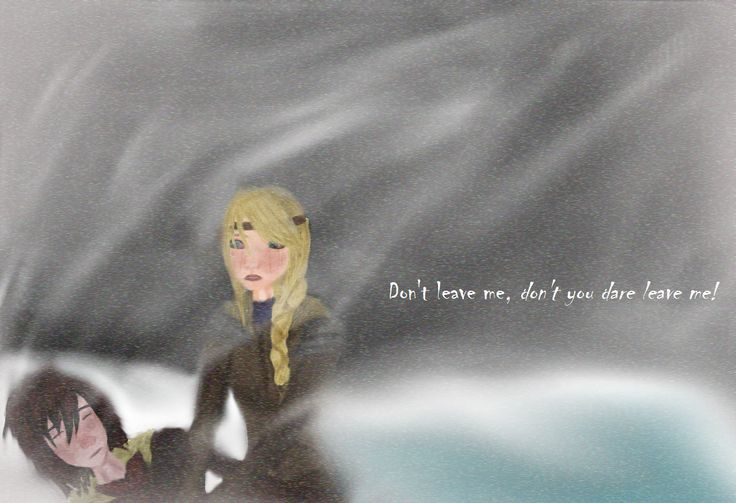 Hiccstrid (Wash Away My Colors Fanart, fanfiction by SilverGhost Wolf777)