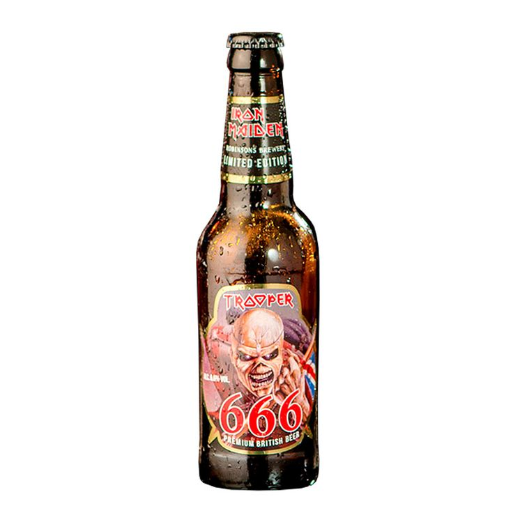 Cerveja Trooper Iron Maiden 666 330ml - The Beer Planet