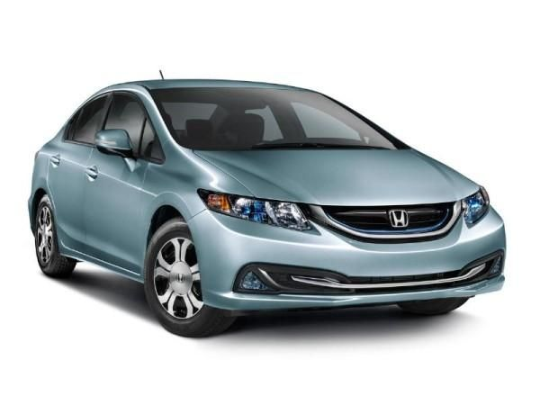 2014 Honda Civic hybrid boasts improved fuel economy - The 2014 Civic Hybrid has an improved EPA fuel rating of 44/47/45 MPG city/highway/combined,
