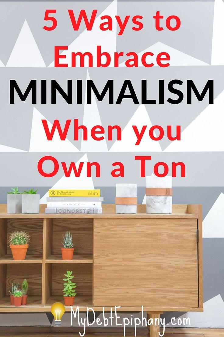 5 Ways to Embrace Minimalism