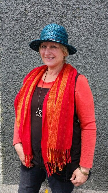 Turquois meremade hat