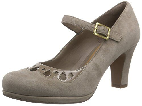 Clarks Chorus Music, Damen Pumps, Grau (Pebble Suede), 41 EU (7 UK) - http://on-line-kaufen.de/clarks/41-eu-clarks-chorus-music-damen-pumps-2
