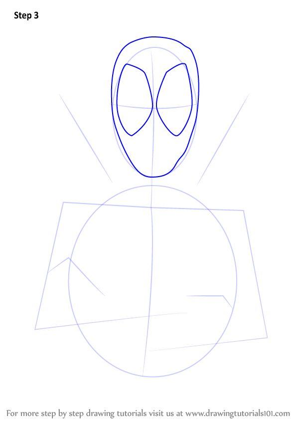Aprenda a desenhar Deadpool (Deadpool) passo a passo: Tutoriais de desenho   – Drawing Tutorial