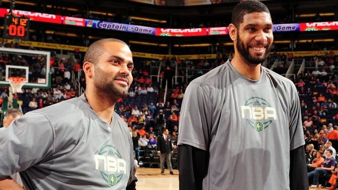 Spurs' Tim Duncan and Tony Parker Selected to Play in 2013 NBA All-Star Game | THE OFFICIAL SITE OF THE SAN ANTONIO SPURS