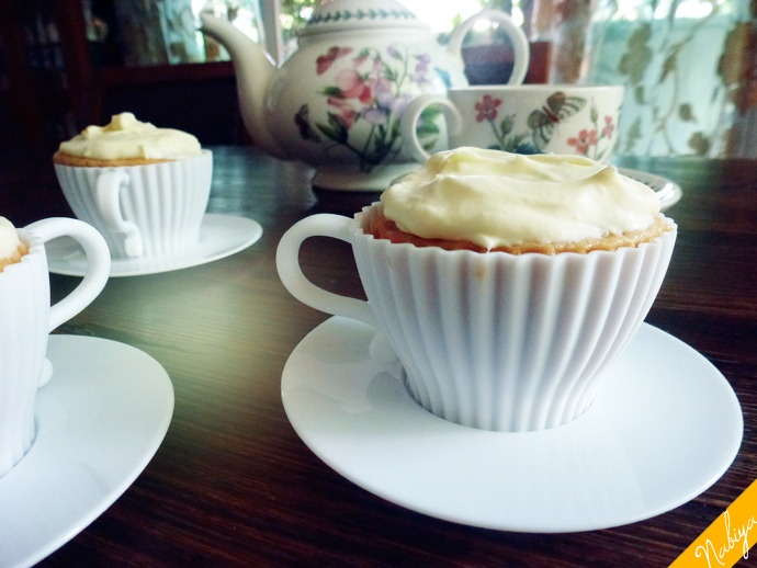 Earl Grey cupcakes... tea-delightful!