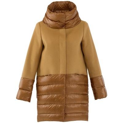Cappotto in lana e nylon - Over - Herno