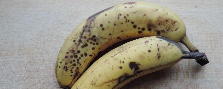Banaan invriezen - Hoe rijpe bananen invriezen? zodat je ze later kan gebruiken in smoothies, in gebak of in lekkere gezonde blender-ijsjes die je maakt met bevroren banaan... hmmm