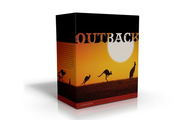 Outback BIB pakningsdesign