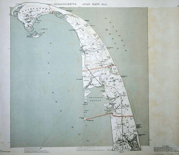 100 Best Cape Cod Maps Images On Pinterest