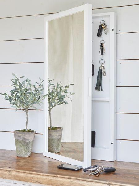 Mirrored+Key+Cabinet