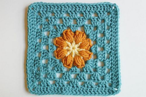 list of pictures for leisure arts 99 granny squares | Pattern: Square 30 from Leisure Arts 99 Granny Squares to Crochet