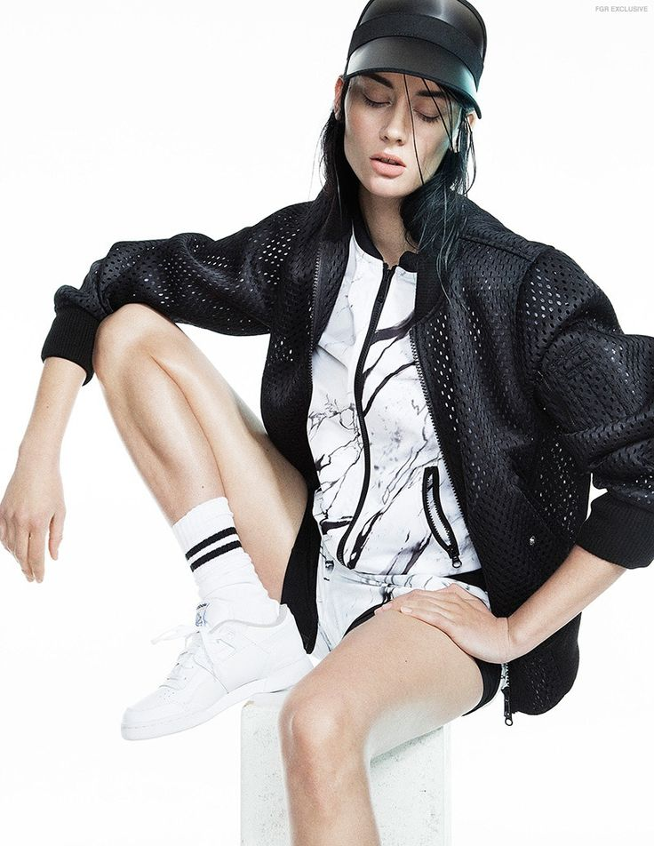 Sport luxe fashion editorial