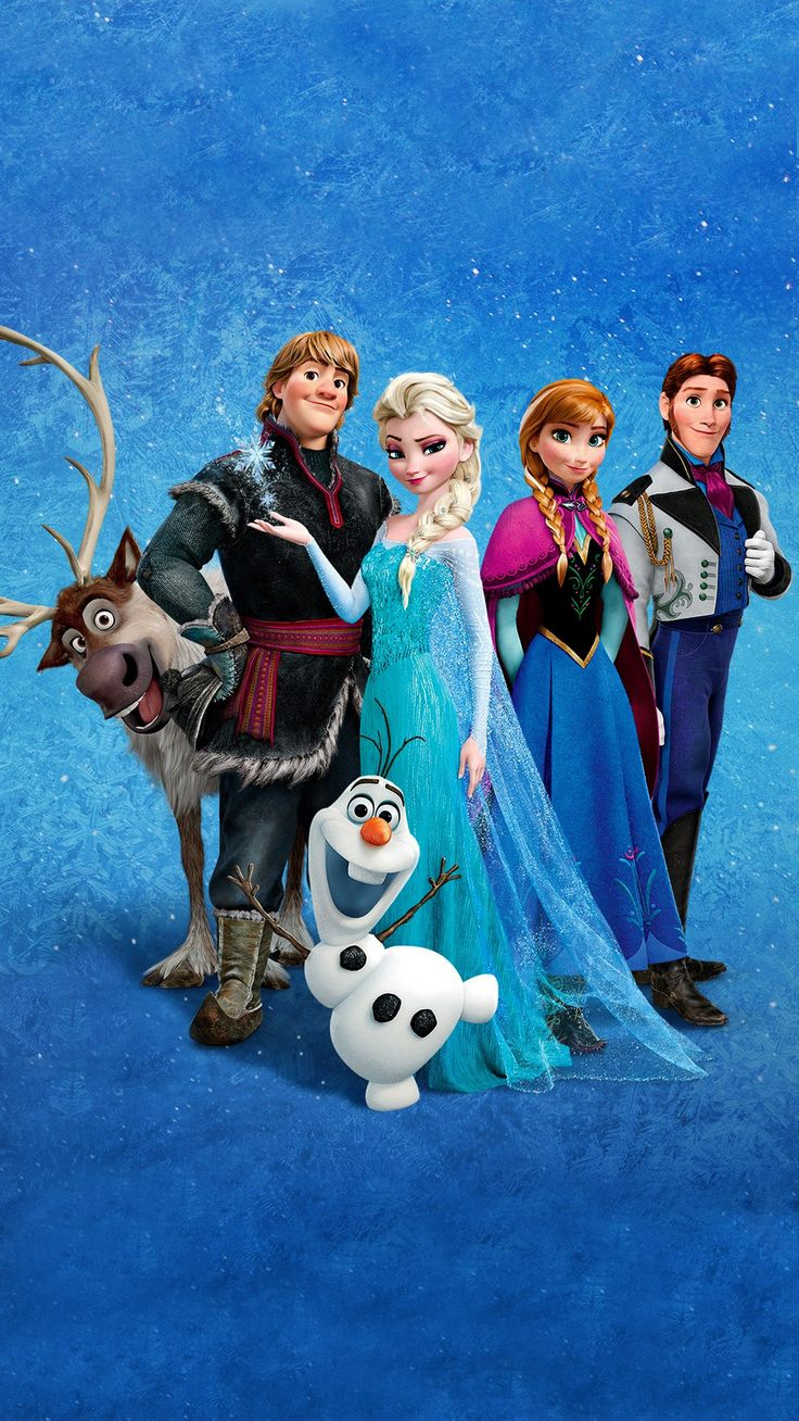 224 best images about o disney cell phone wallpapers o - Frozen cartoon wallpaper ...