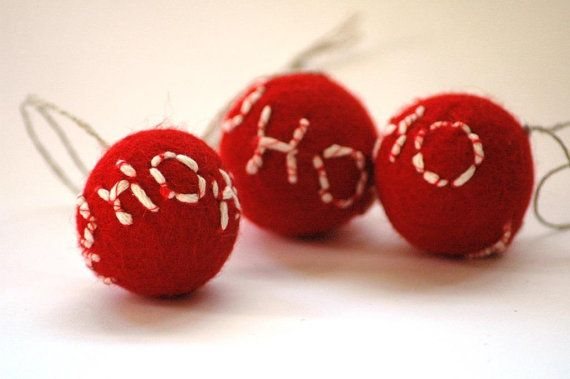 Red Ho Ho Ho Ballbelle Christmas Ornament or by TheNataleStore, $6.30