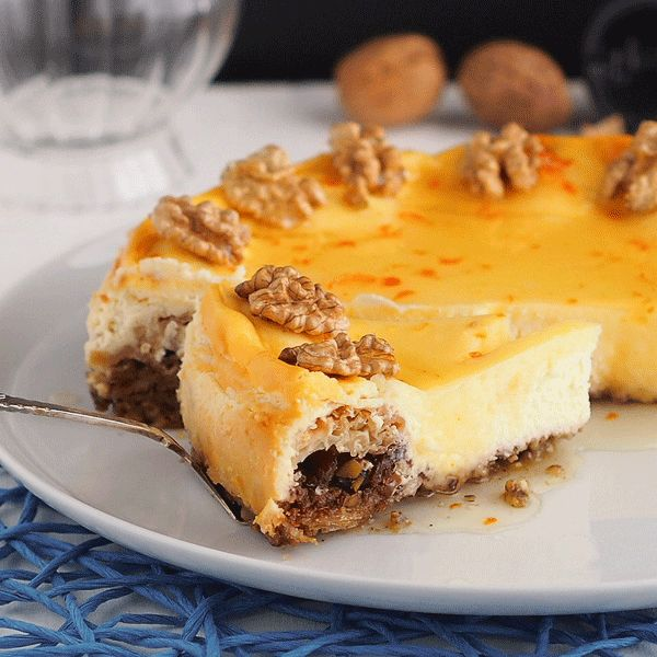 Box of Stolen Socks: Baklava Cheesecake / Cheesecake με Μπακλαβά
