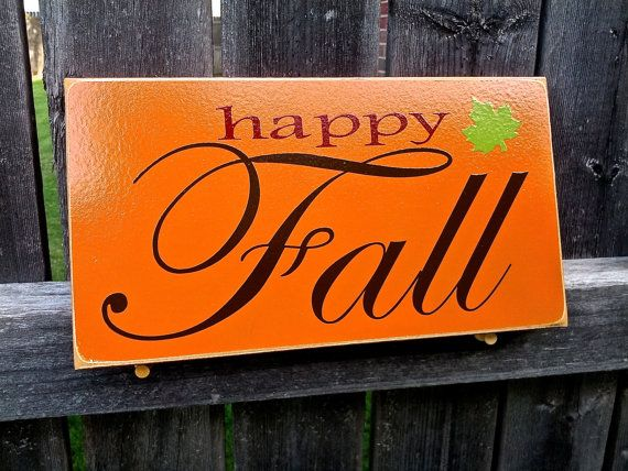 Hey, I found this really awesome Etsy listing at https://www.etsy.com/listing/195657766/happy-fall-decor-sign