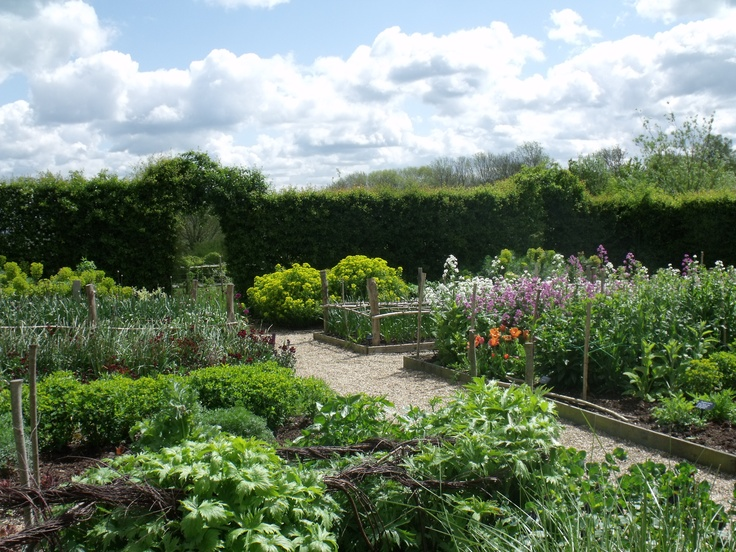 the cutting garden at Perch Hill in may