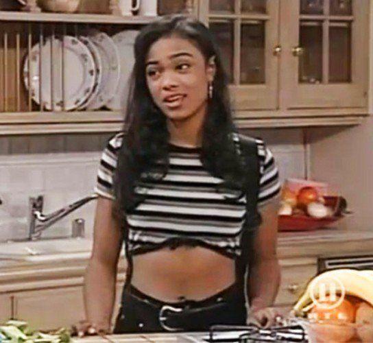 Tatyana Ali as Ashley Banks from Fresh Prince of Bel Air