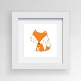 Ivaleegifts - Framed wall art cute Mr Fox 30 * 30 CM ready to hang, $29.95 (http://www.ivaleegifts.com.au/framed-wall-art-cute-mr-fox-30-30-cm-free-post/)