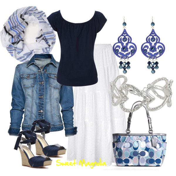 Shades of Blue, created by pjm27 on Polyvore
