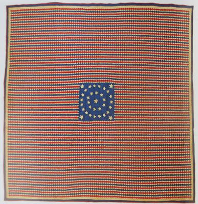 Civil War Quilts: 34 Stars in a Flag:  Documented by the New Jersey quilt project. Over 7,000 pieces.