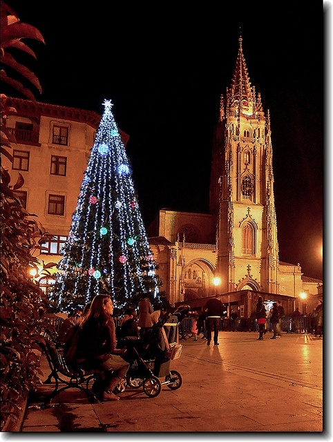 Christmas in Oviedo Catedral, Spain