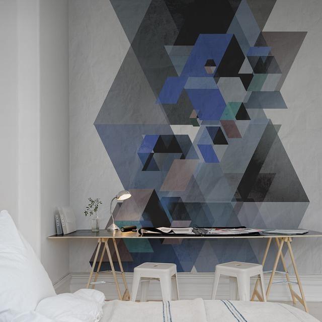 Painéis Fotográficos - Art - Painel Fotográfico Fractal, Blue