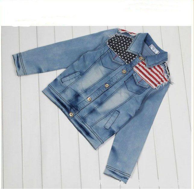 America Denim Jacket – Poppatosh