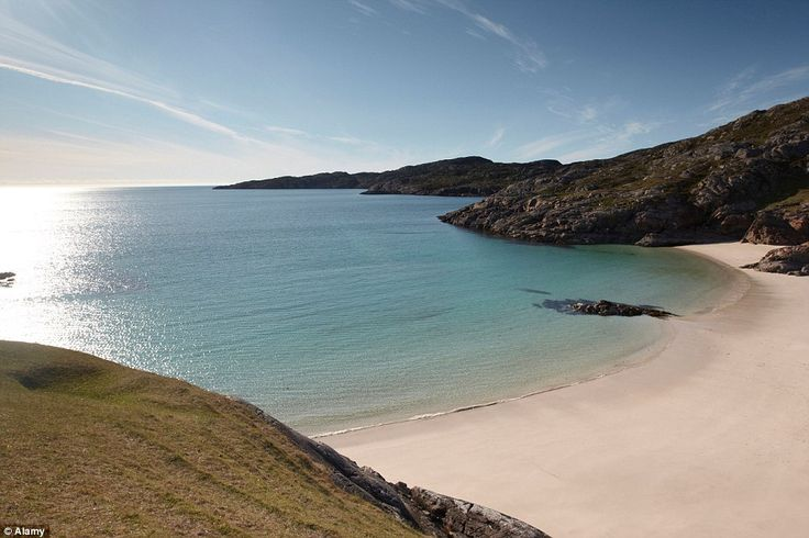 Enjoy Achmelvich Beach, Assynt along the way. The unspoiled beach is an ideal place for a pit stop along the road trip for a picnic