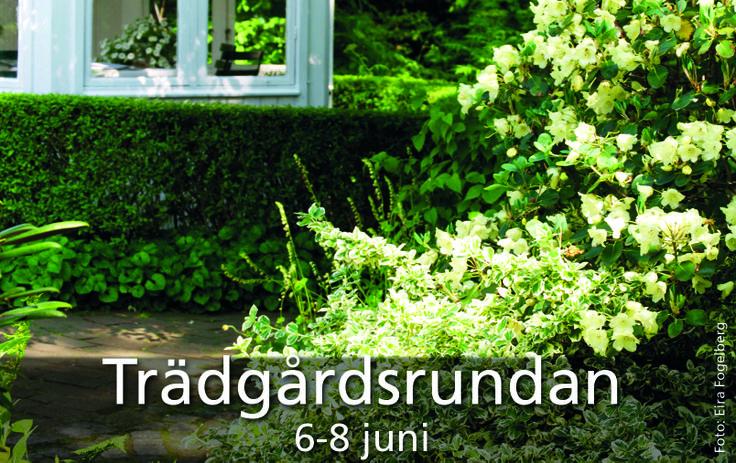 Trädgårdsrundan 6-8 juni 2014