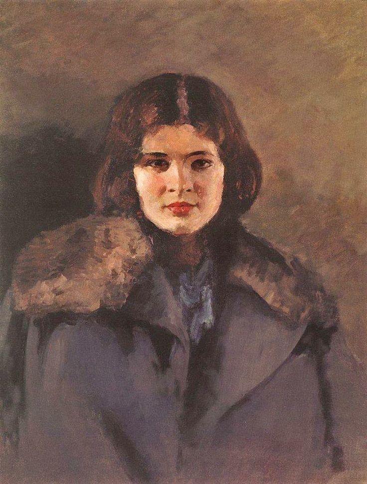 Igor Grabar (1871-1960) - Portrait of Svetlana, 1933