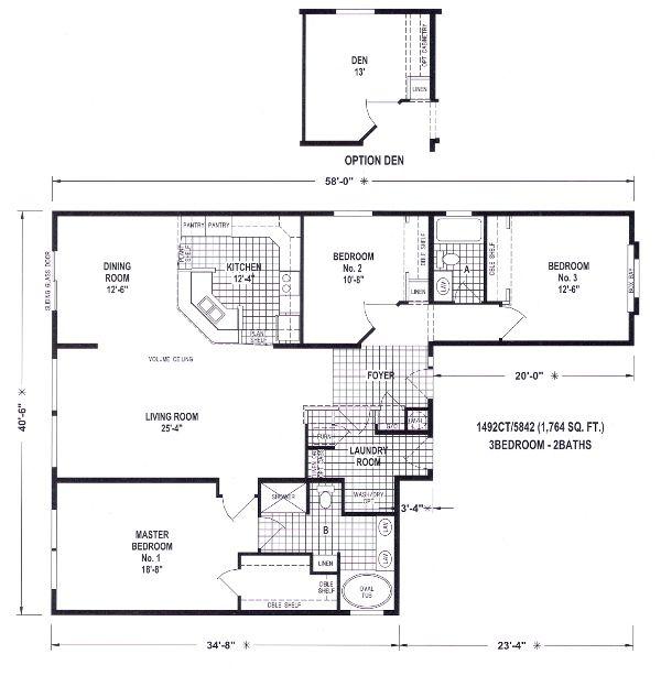 Best Floor Plans Images On   Floor Plans Modular