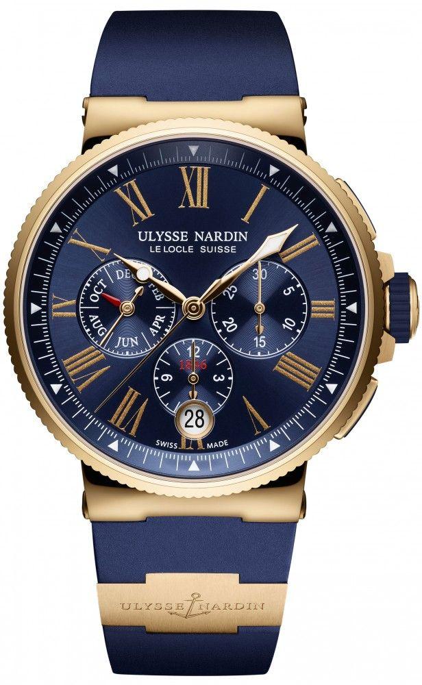 Ulysse Nardin Marine Chronograph Annual Calendar
