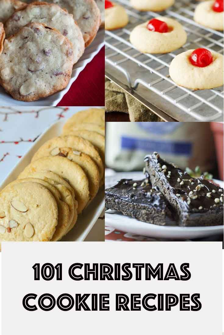 101 Christmas cookie recipes you can't resist.