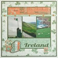 Image result for ireland scrapbook layouts