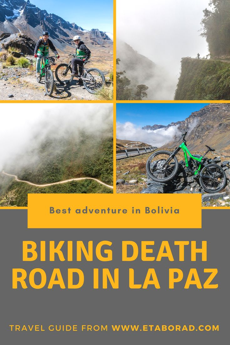 Downhill of Yungas Road near La Paz in Bolivia is a must adveture in Bolivia. Read our experiance a find out why is such a great trip.