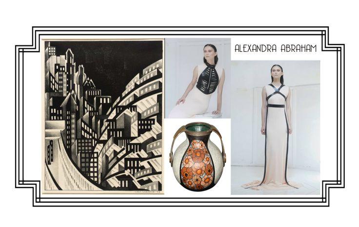 Alexandra Abraham leather harnesses